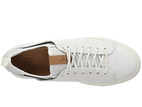 [Polo Ralph Lauren(ポロラルフローレン)] メンズカジュアルシューズ?スニーカー?靴 Dunovin White 9.5 (28cm) D - Medium