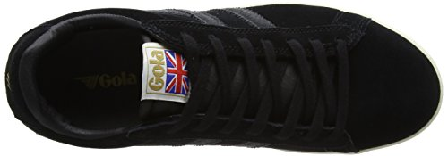 Graphite Mens Black White Trainers Gola Equipe Suede Off SAfnq