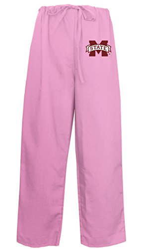 Ladies Mississippi State Pants MSU Mississippi State Scrubs - Bottoms for Women Msu Mississippi State Scrub