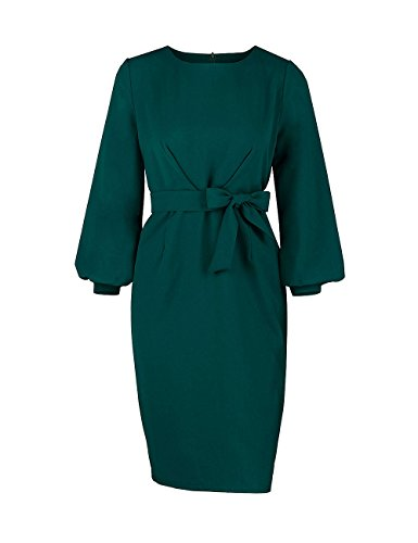 Puff Sleeve Dress - 5
