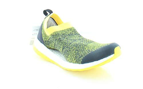 adidas by Stella McCartney Women's Pure Boost X Super Purple S16/Pearl Rose/Smc/Vivid Yellow S13 Athletic Shoe