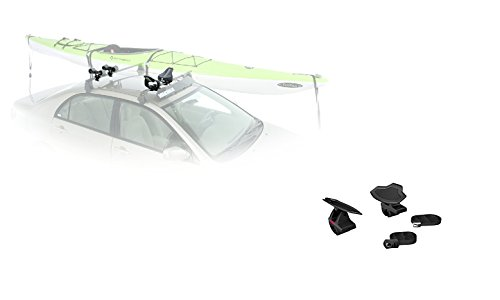 Yakima HullyRoller Kayak Rack and HullHound Bundle