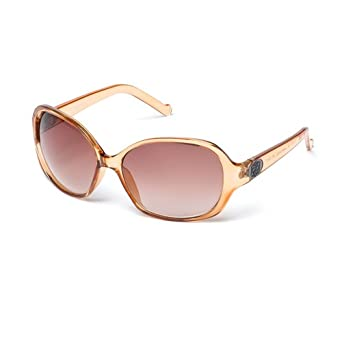 42f0817c0c01 MUK Women's Carter Sunglasses Peach Frame with Brown Lens MUK097727 One  Size: Amazon.co.uk: Clothing