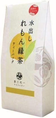 出雲のいろどり 水出し れもん緑茶 5g×5P×9 ティーバッグ 茶三代一 健康茶 香料 着色料 不使用