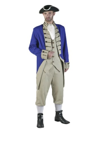 Delux (Adult Colonial Soldier Costumes)