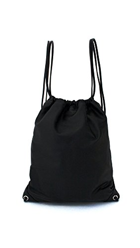 Leather Drawstring Backpack by Sweat Active