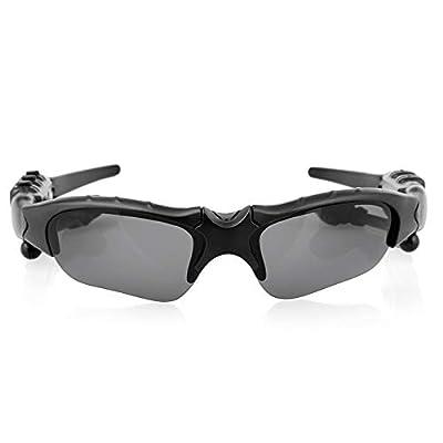 Eleganlife Bluetooth Sunglasses Wireless Bluetooth Headsets Foldable Polarized Lenses Sunglasses V4.1 Stereo Handfree Bluetooth Headphone for iPhone Samsung Smart Phones