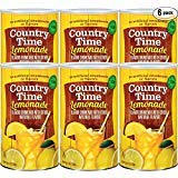 Country Time Lemonade Drink Mix, 82.5 oz Can (Pack of 6, Total of 495 Oz)