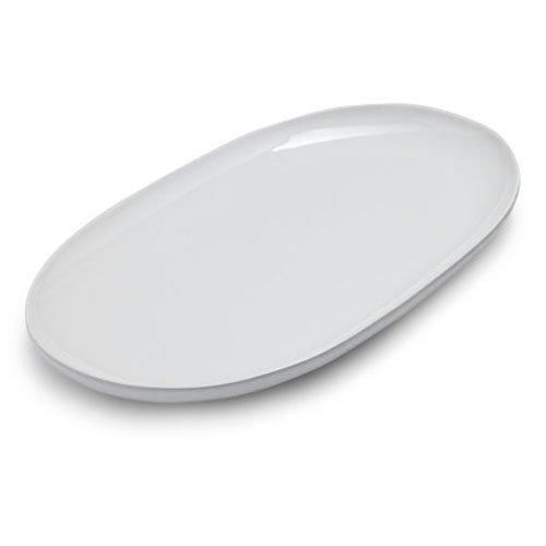 Sur La Table Italian Whiteware Oval Platter (Oval Serving Platter)