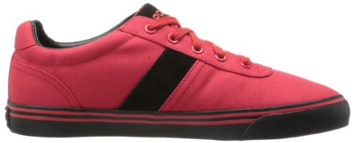 Polo Ralph Lauren Mens Moda Hanford Sneaker Rosso Reale / Rosso Reale / Nero