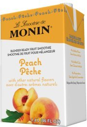 (Monin Peach Smoothie Mix 46 Fl Oz by Monin)