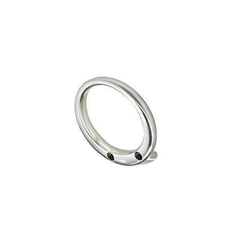 Richelieu Hardware RH1303011195 Contemporary Metal Hook, Brushed Nickel Finish by Richelieu Hardware