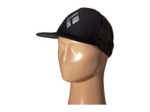 Black Diamond Unisex Flat Bill Trucker Hat Black/White One Size ()