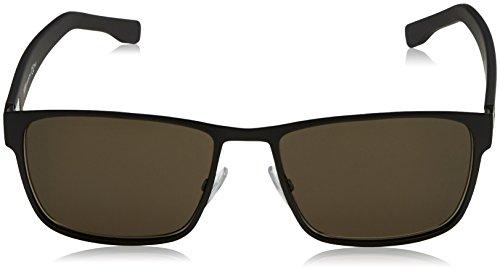Hugo Boss Lunettes de soleil 0561 Sun classic Dark Ruthenium / Grey / Grey Gradient Matte Black