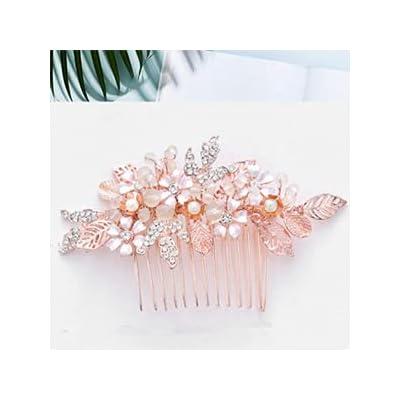 Bridal Comb Hair Piece Gold Hair Accessories Crystal Hair Comb Wedding Hair Comb Bridal Hairpiece Bridal Hair Comb Gold Bridal Hair Vine