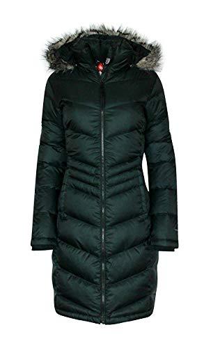 D'inverno Termico Lungo Caldo Polare Cappotto Columbia Nero Piumino Femminile Congelare Omni PHzqxpwX