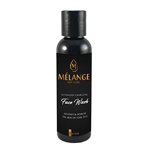 (Melange Skin Care Activated Charcoal Face Wash, Cleanser 4 oz)