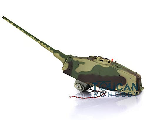(Part & Accessories 1/16 4th 2.4Ghz Henschel King Tiger RC Tank 3888A 360 Degrees Turret TH00391)