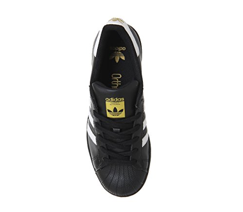 adidas Superstar Foundation, Sneakers da Uomo Nero