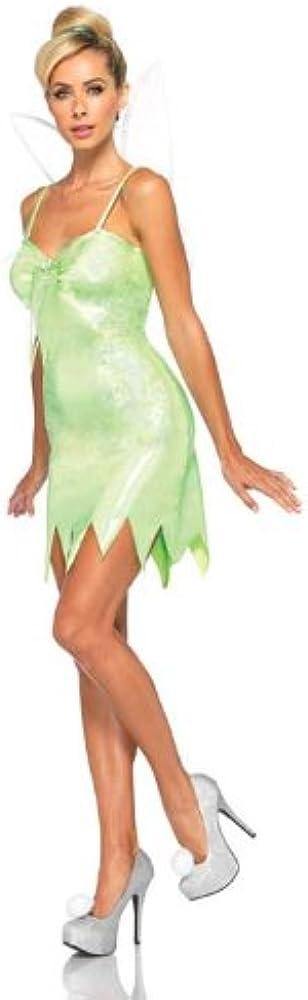 Disney – Disfraz de Campanilla de Nunca de la Mujer Verde Verde ...