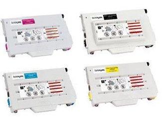 (Clearprint 15W0900, 15W0901, 15W0902, 15W0903 Compatible Color Toner Set for Lexmark C720 printers)