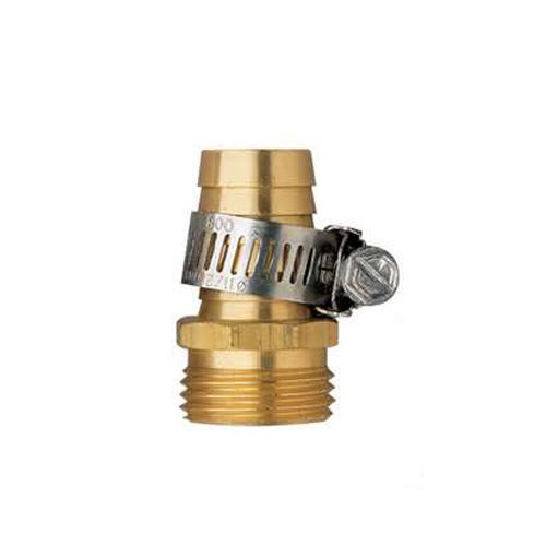 Orbit Underground 27180 Green Thumb Brass Male Hose Mender, 3/4-Inch