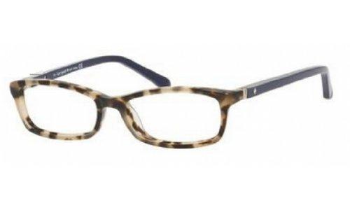 Kate Spade Agneta Eyeglasses-01H6 Camel Tortoise Navy -48mm