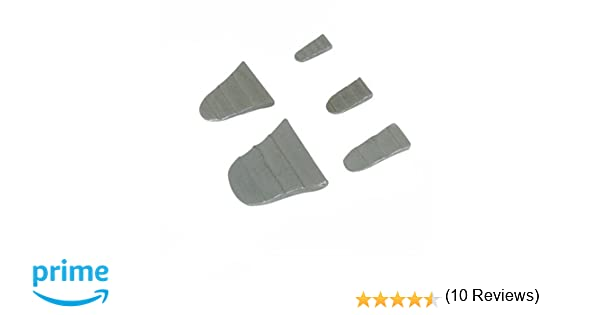 Silverline 273200 - Juego de cuñas para martillo, 10 pzas (10 pzas ...