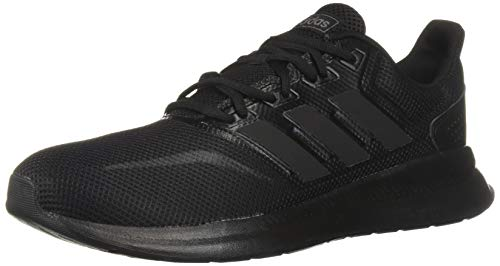 (adidas Women's Falcon, Black, 9.5 M US)