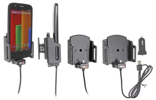 Brodit 521620 Support auto actif via USB Compatibilité universelle Installation avec ou sans coque de protection Largeur 62-77 mm Épaisseur 6-10 mm