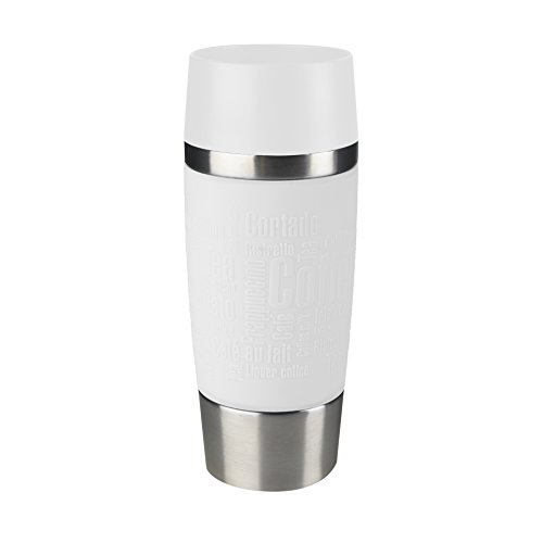 Emsa Vacuum Mug ''Travel Mug'' 12.2 fl oz In White, by Emsa