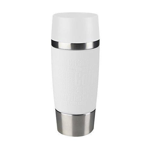 Emsa Vacuum Mug ''Travel Mug'' 12.2 fl oz In White, by Emsa
