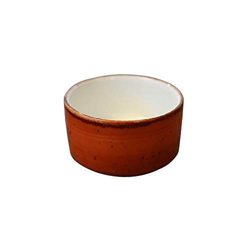 Vertex LTC-RSD London Terra Cotta Rolled Edge Sauce Dish - 48 / - Sauce Vertex
