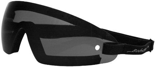 Bobster Eyewear Wrap Goggles , Distinct Name: Smoke Lens, Gender: Mens/Unisex, Primary Color: Black BW201 ()