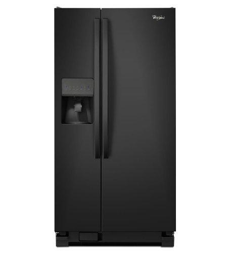 Whirlpool WRS322FDAB Black Side Refrigerator