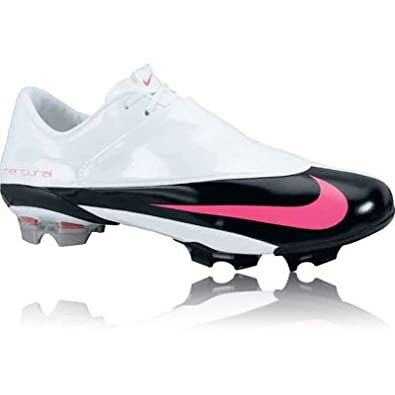 on sale a810b b864a Amazon.com | Nike Mercurial Vapor V FG White/Pink Size 13 ...