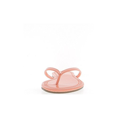 FLUO salmón flip-flops para 0,5 cm talonette