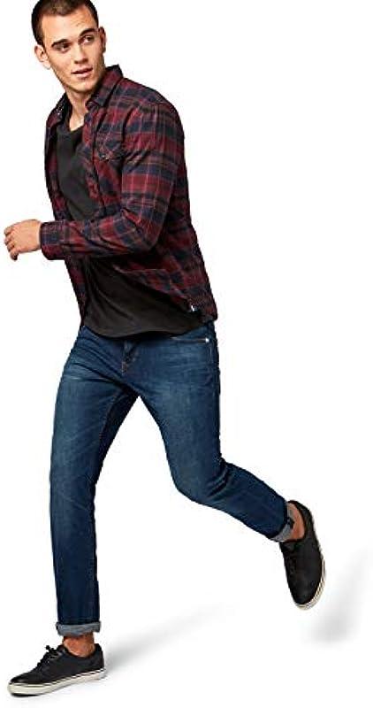 TOM TAILOR Denim Męskie dżinsy Slim Piers: Odzież