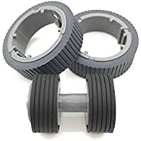 OKLILI PA03670-0001 PA03670-0002 Consumable Kit Pick Roller + Brake Roller Pickup Roller for Fujitsu fi-7160 fi-7260 fi-7140 fi-7240 fi-7180 fi-7280