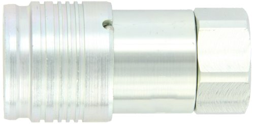 Dixon 6HTF6 Steel Flush Face Hydraulic Quick-Connect Fitting, Coupler, 3/4'' Coupling x 3/4''-14 NPTF by Dixon Valve & Coupling (Image #1)