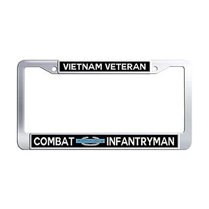Amazon.com: Combat Infantryman Badge Vietnam Veteran License ...