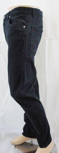 Voi Jeans Jet Schwarz gerades Bein Twister Jeans