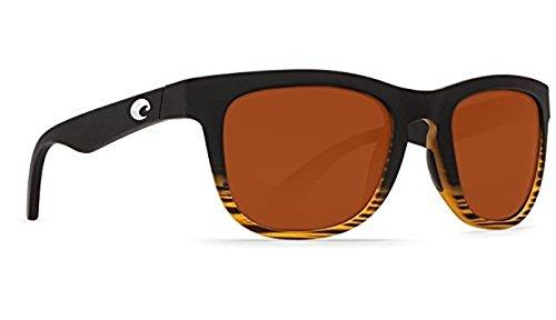 Costa Copra Sunglasses Matte Coconut Fade Copper