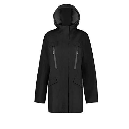 Triple F.A.T. Goose Aisen Collection | Chelsea Waterproof Womens Rain Jacket (X-Large, Black) (Hood Jacket Chelsea)