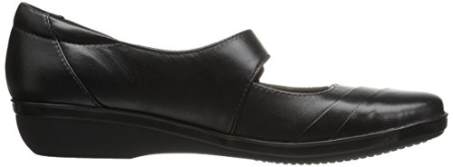 CLARKS Women's Everlay Kennon Mary Jane Flat Black Leather amazing price for sale cheap sale clearance store free shipping best prices 2015 cheap online BQSJmH8