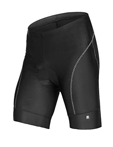 Swallow Men's Cycling Shorts 3D Gel Padded Bike Shorts Breathable Half Pants for Biking from Swallow