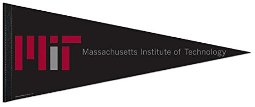Pennant Felt Wool (WinCraft Massachusetts Institute of Technology MIT Engineers Premium Pennant, 12 x 30 inches, felt)