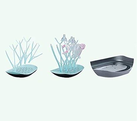 Doyime Egouttoir design 8 biberons accessoires Porte-bouteille cr/éatif Porte-biberon Porte-gobelet pour fruits et l/égumes