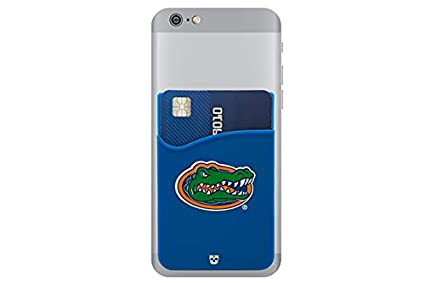 Drexel Dragons Adhesive Silicone Cell Phone Wallet//Card Holder for iPhone Most Smartphones Samsung Galaxy Android
