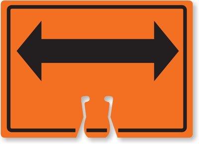 Double Arrow (Bidirectional Arrow Symbol) Sign, 14
